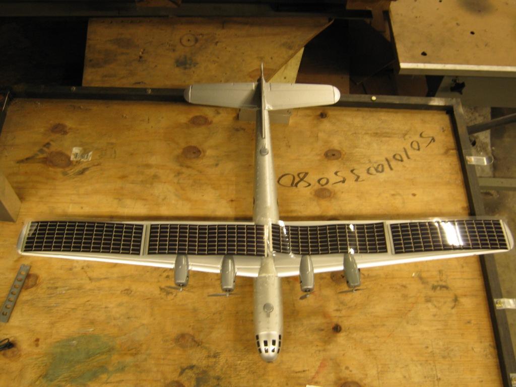 Engin1000 Solar Rc Plane