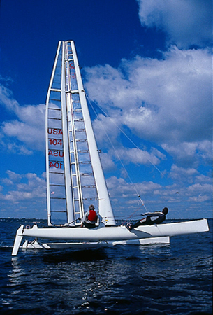 engin1000 / RC Wing Sailboat Project Page
